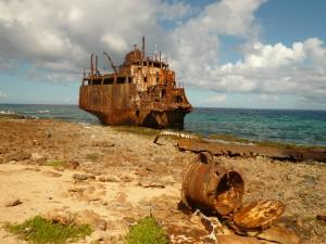 Schipwrak Klein Curacao
