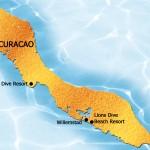 Plattegrond van curacao