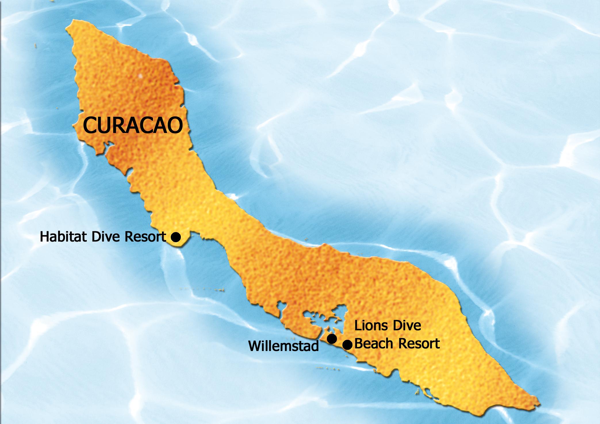 Curacao Curacao  city photo : Plattegrond van curacao | Prachtig Curaçao