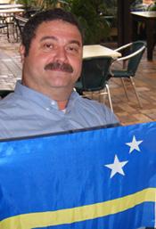Vlag curacao ontwerper
